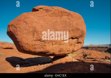 Balance Rock Canyonlands National Park - Stock Image