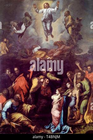 Raphael, The Transfiguration, painting, c. 1516 - Stock Image