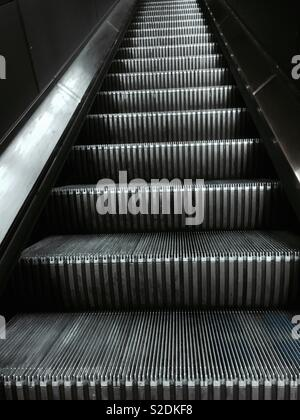 Escalators - Stock Image
