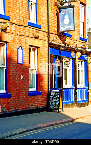 The Fat Cat pub, Alma Street, Sheffield, England - Stock Image
