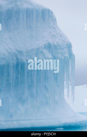 Iceberg, Antarctica. - Stock Image