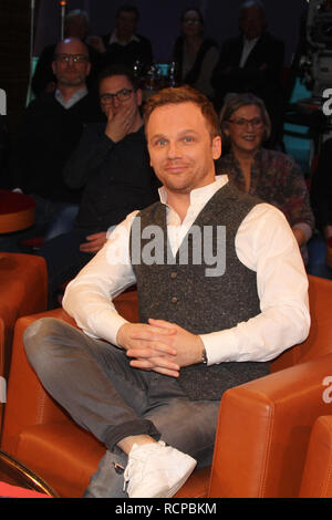 NDR Talkshow, Hamburg, 14.12.2018  Featuring: Ralf Schmitz (Komiker) Where: Hamburg, Germany When: 15 Dec 2018 Credit: Becher/WENN.com - Stock Image