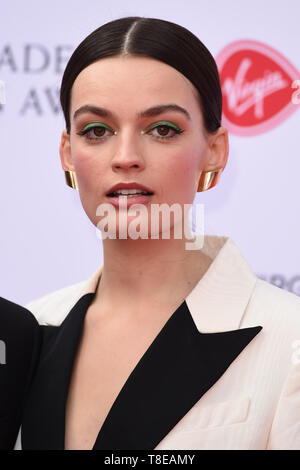 LONDON, UK. May 12, 2019: Emma Mackey arriving for the BAFTA TV Awards 2019 at the Royal Festival Hall, London. Picture: Steve Vas/Featureflash - Stock Image