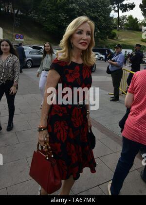Carmen Lomana during San Isidro Fair 2019 in Madrid  22/05/2019  Cordon Press - Stock Image