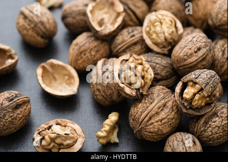 Fresh organic walnuts - Stock Image