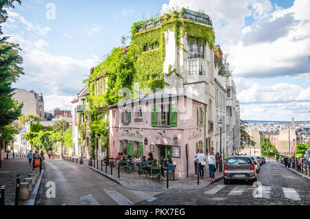 La Maison Rose - Stock Image