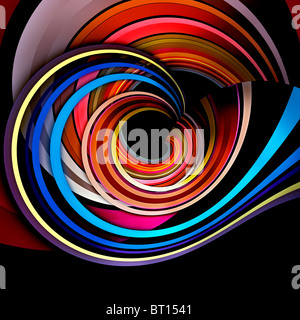 Colorful abstract background - Stock Image