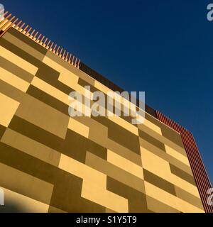 Modern Architecture with blue sky - Stock Image