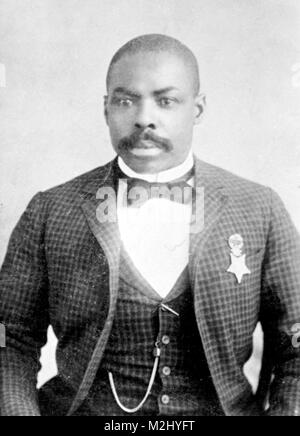 Isaiah Mays, Buffalo Soldier, Medal of Honor Recipient - Stock Image