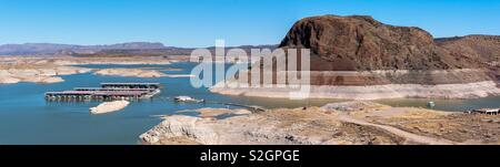Elephant Butte Lake in New Mexico - Stock Image