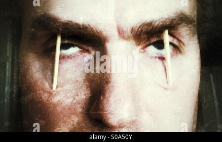 So tired! - Stock Image