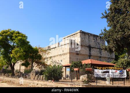 Limassol Castle, Cyprus 2010 - Stock Image