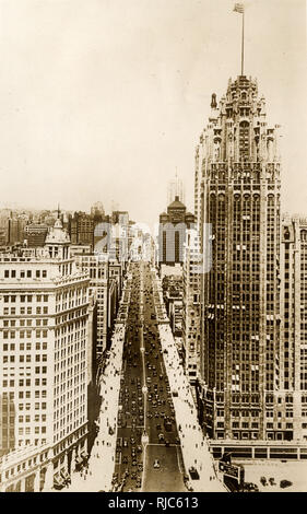 Chicago, Illinois, USA. - Stock Image