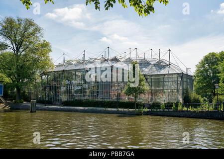 The  Hortus Botanicus of Amsterdam - Stock Image