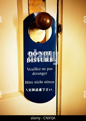 Do not disturb - Stock Image