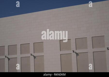 Facade of the Avenues shopping mall, Manama, Kingdom of Bahrain - Stock Image