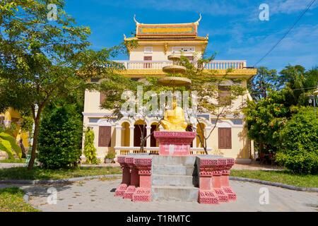 Wat Po Knong, Battambang, Cambodia, Asia - Stock Image
