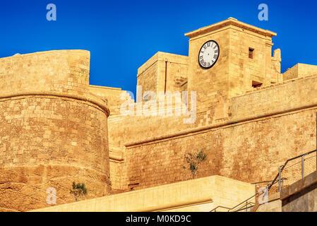 VVictoria, Gozo island, Malta: the Cittadella - Stock Image