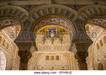 Royal Alcazar of Seville - Stock Image