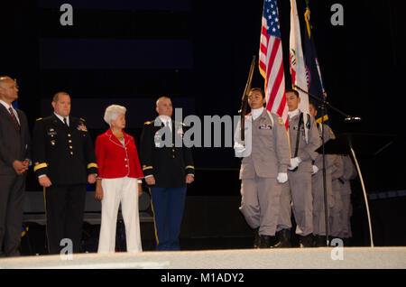 Rep. Grace Napolitano was one of the distinguished guests who joined us to celebrate as 201 cadets graduated from - Stock Image