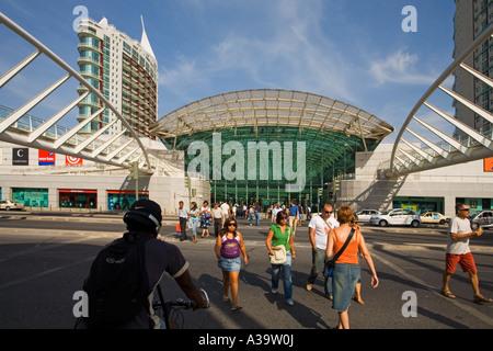 Portugal Lisbon Vasco da Gama shopping center near Expo - Stock Image