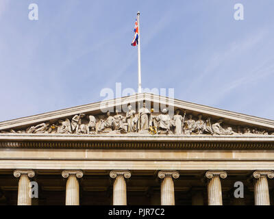 The exterior of the British Museum - Stock Image