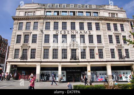 Debenhams department store, Old Market Square, Nottingham, England, UK - Stock Image