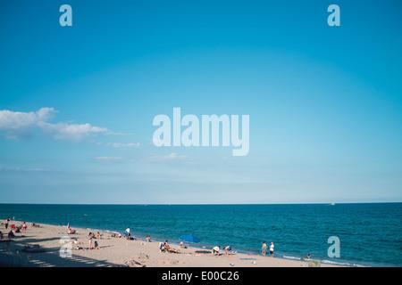 Lake Worth Beach in West Palm Beach, Florida. - Stock Image