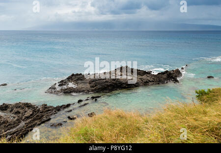 Scenic view on Maui coast - Stock Image