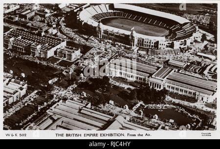 British Empire Exhibition, Wembley, London, England. - Stock Image
