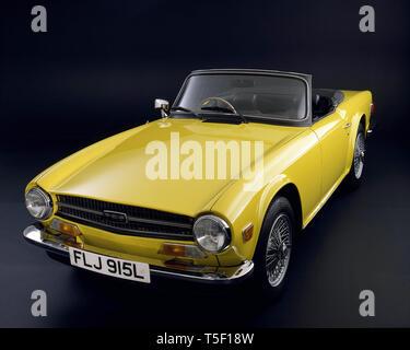 1973 Triumph TR6 - Stock Image