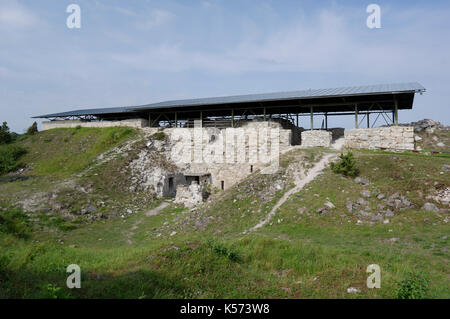 Maasilinna Castle. Outside view.  Orissaare Parish, Saare County, Estonia. 30th August 2017 - Stock Image