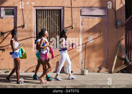 Carnival in Roseau, Dominica - Stock Image