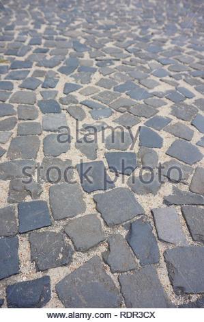 Surface made of stone blocks - Stock Image