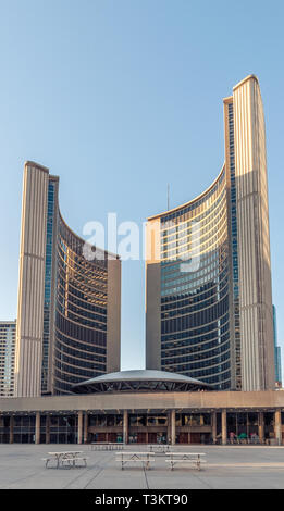 New City Hall Toronto - Stock Image
