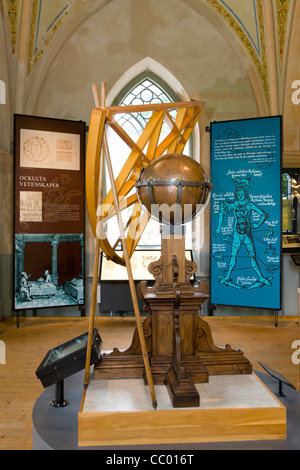 The Tycho Brahe museum on the island of Hven in Oresund - Stock Image