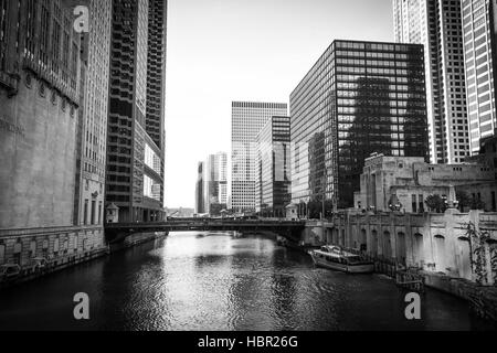 The Civic Opera House is an opera house located at 20 North Wacker Drive in Chicago. It is part of a structure which - Stock Image