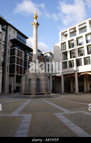 Paternoster Square London - Stock Image