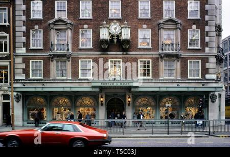 Fortnum & Mason, London, England, UK. Circa 1980's - Stock Image