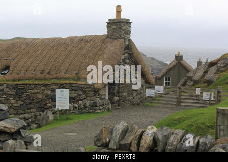 black houses isle of lewis - Stock Image