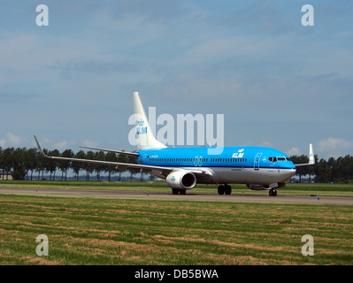 PH-BXM KLM Royal Dutch Airlines Boeing 737-8K2(WL) 1 - Stock Image