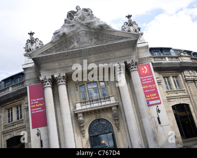 Bourse du Commerce building exterior, Les Halles Paris France - Stock Image