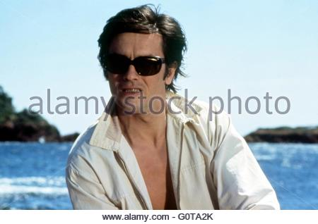 Alain Delon   / The Sicilian Clan / 1969 directed by Henri Verneuil  (Les Productions Fox Europa / Les Films du - Stock Image