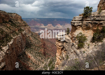 Scenic view of Grand Canyon, Arizona, USA - Stock Image