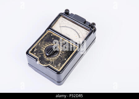 The Vintage electric tester - Stock Image