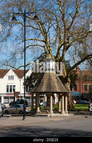 Clock Tower, The Plain, Oxford High Street, Oxford, Oxfordshire, UK. - Stock Image