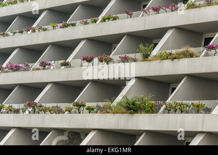 The Marina Bay Sands Hotel, Singapore, - Stock Image