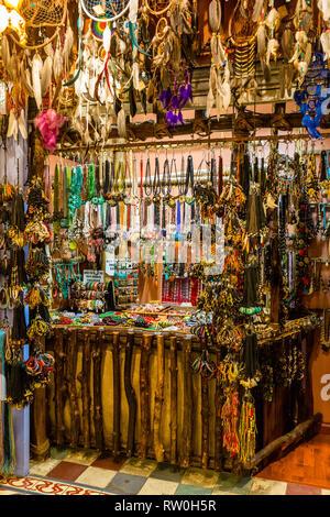 Central Market, Handicraft Jewelry, Kuala Lumpur, Malaysia. - Stock Image