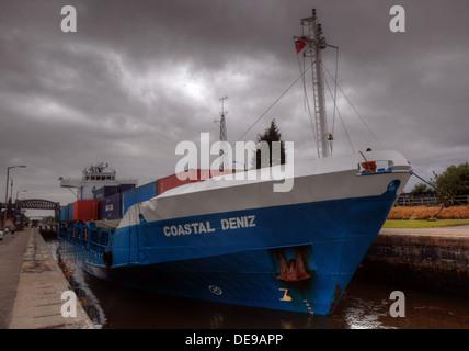 Coastal Deniz at Latchford Locks,MSCC,  Warrington, England, UK - Stock Image