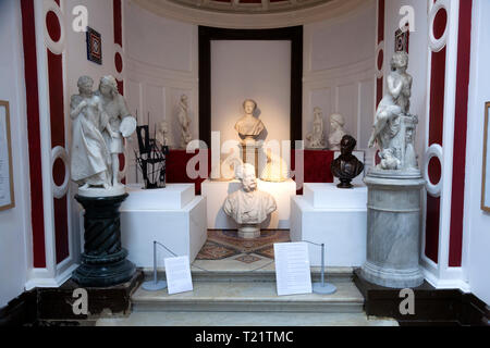 The Marble Gallery at Bankfield Museum, Halifax, West Yorkshire - Stock Image
